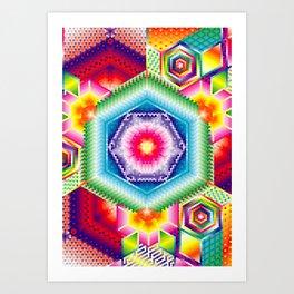 HEX - Joy Art Print