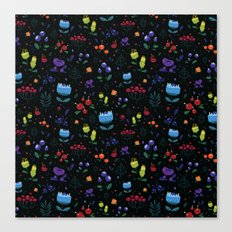 Magical berries Canvas Print