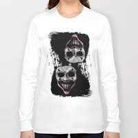 psycho Long Sleeve T-shirts featuring psycho by arTistn