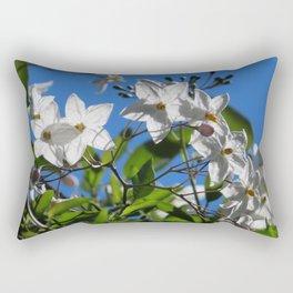 Potato Vine Print   Barwon Heads   Bellarine Peninsula Rectangular Pillow