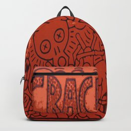 K. Allen Haring - Equal Rights - Popart Legend - Graffiti - Crack Is Wack 1986 Backpack