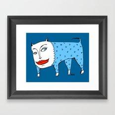 doggie Framed Art Print