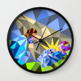 The Manger II Wall Clock