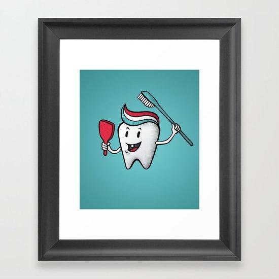 Fresh & Clean Framed Art Print
