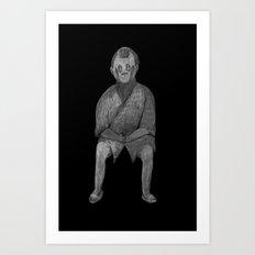 Zombies in my backyard: Lost in Translation Art Print