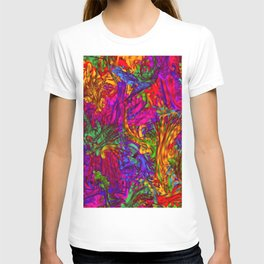 Hot liquid abstract B T-shirt