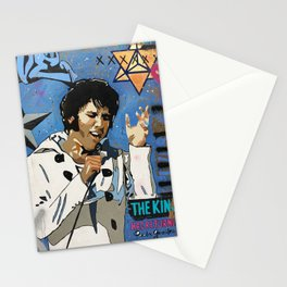 Elvis Rock Art Stationery Cards