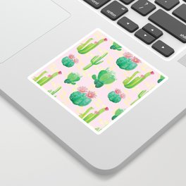 Cacti Pattern Sticker