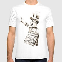 the POPO' paperboy T-shirt