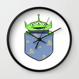 Toy Story Alien Pocket Wall Clock