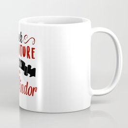 seek adventure like a gryffindor Coffee Mug
