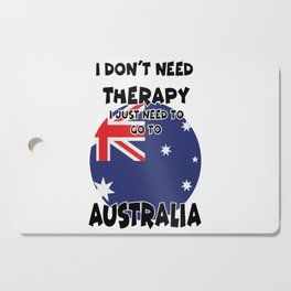 Australia Cutting Board