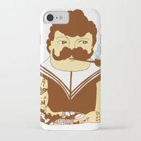 sailor iPhone & iPod Cases featuring Sailor by Regina Rivas Bigordá