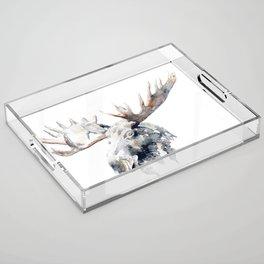 Moose Acrylic Tray
