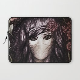 Flower Anime Art Laptop Sleeve