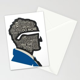 CASEY NEISTAT MOTIVATION HEAD Stationery Cards
