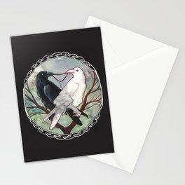 Huginn and Muninn Stationery Cards