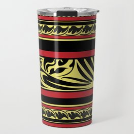 Maldivian Lacquer Work Travel Mug