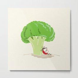 Cauliflower Tree Metal Print