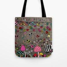 Mushroom Hill Tote Bag