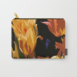 Orange and Yellow Carry-All Pouch