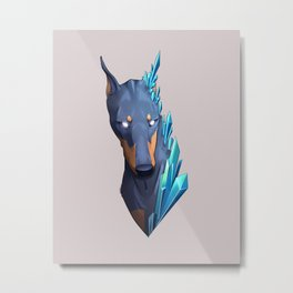 Crystaldobe Metal Print