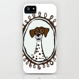 Spotted Dog iPhone Case