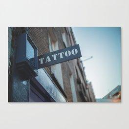 Tattoo Brick Lane Canvas Print