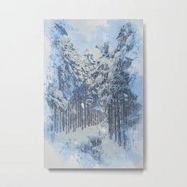 If Winter comes Metal Print