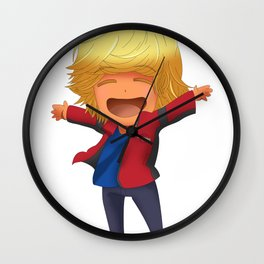 Will Solace chibi Wall Clock