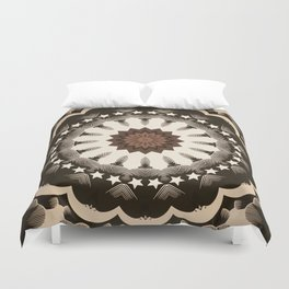 Ouija Wheel of Stars - Beyond the Veil Duvet Cover