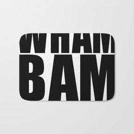 WHAM BAM I AM A MAN Bath Mat