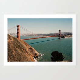 Golden Gate Bridge SF   Fine Art Travel Photography Art Print
