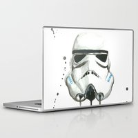 stormtrooper Laptop & iPad Skins featuring Stormtrooper by McCoy