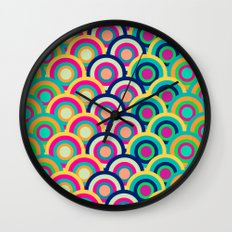 Circle colors Wall Clock