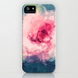 Abstract Flower II iPhone Case