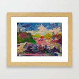 Summer Color Study Framed Art Print