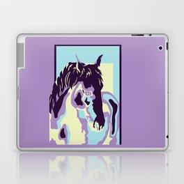 purple horse Laptop & iPad Skin