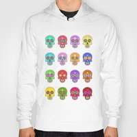 sugar skulls Hoodies featuring Sugar Skulls by Andrew O'Rourke