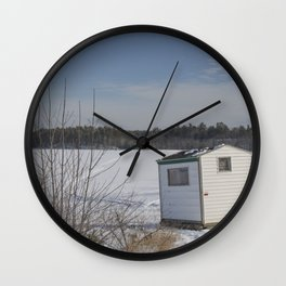 Ice House Wall Clock
