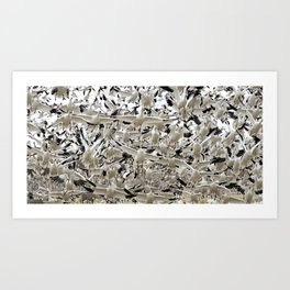 Thousands and Thousands of Snow Geese at Bosque del Apache National Refuge by OLena Art Art Print