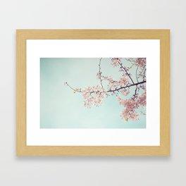 Spring happiness Framed Art Print