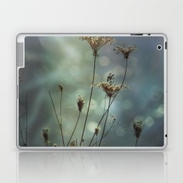 Queen Anne's Lace on Bokeh Background Laptop & iPad Skin