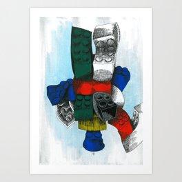 Lego Modularity Art Print