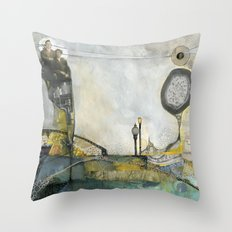Brother's Keeper Throw Pillow