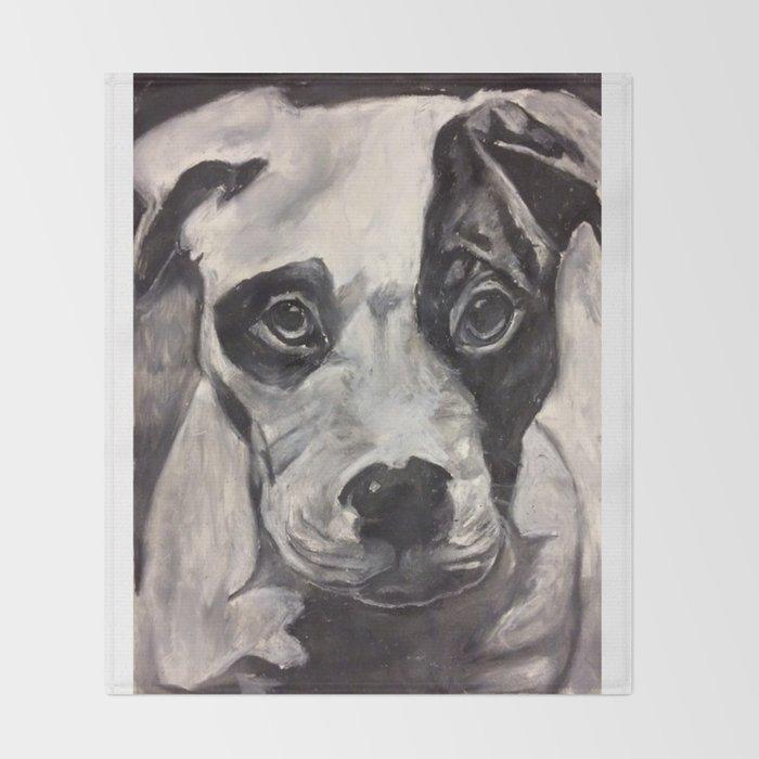 Puppy Throw Blanket