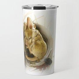Souris d'hiver (Winter Mouse) Travel Mug