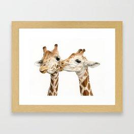Smooches Framed Art Print