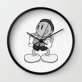 BW Vintage Morty Wall Clock
