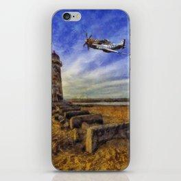 North American P-51 Mustang iPhone Skin